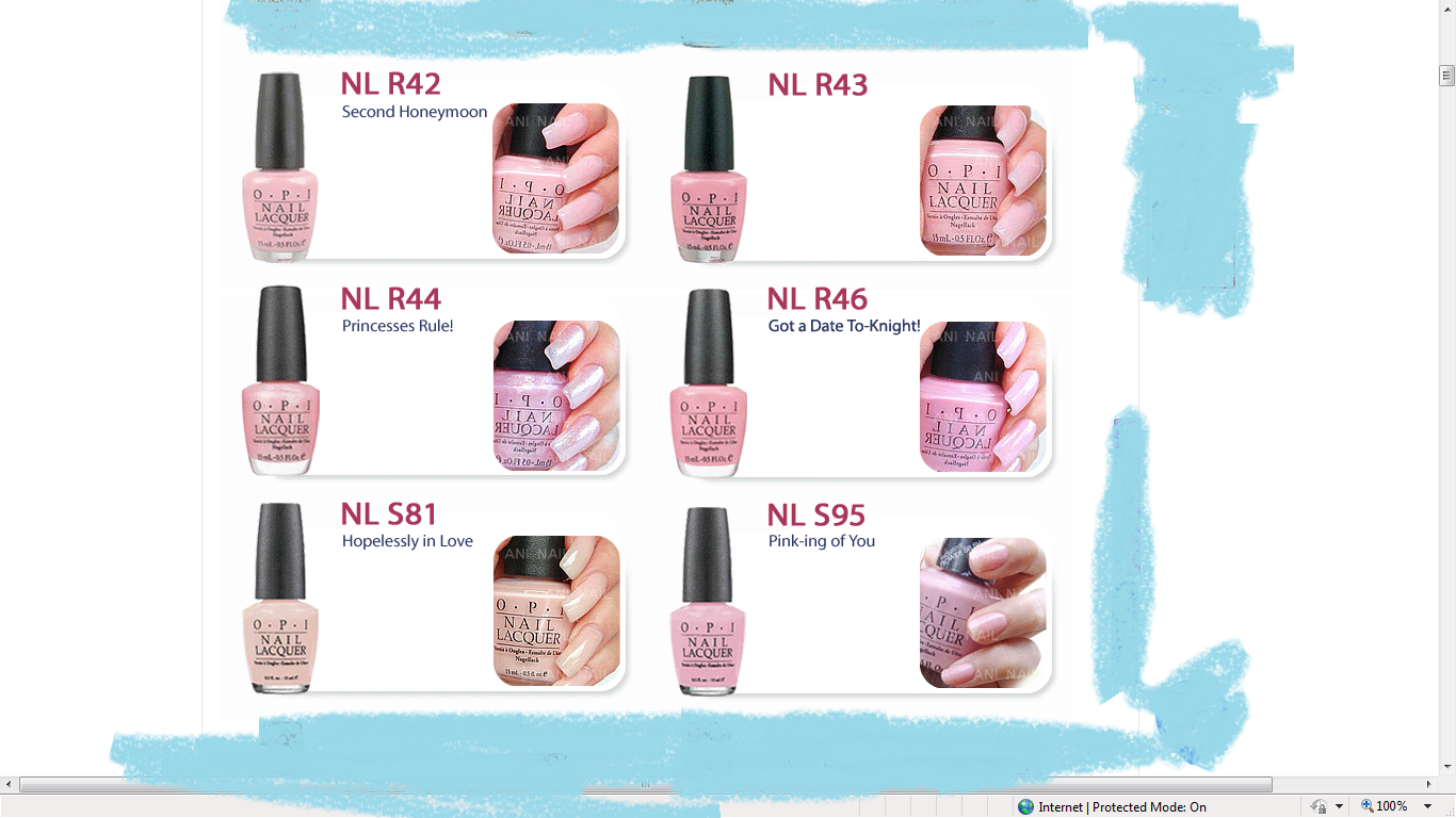 Soft Shades OPI Nail Polish (: | SHOPPING BOOMZ